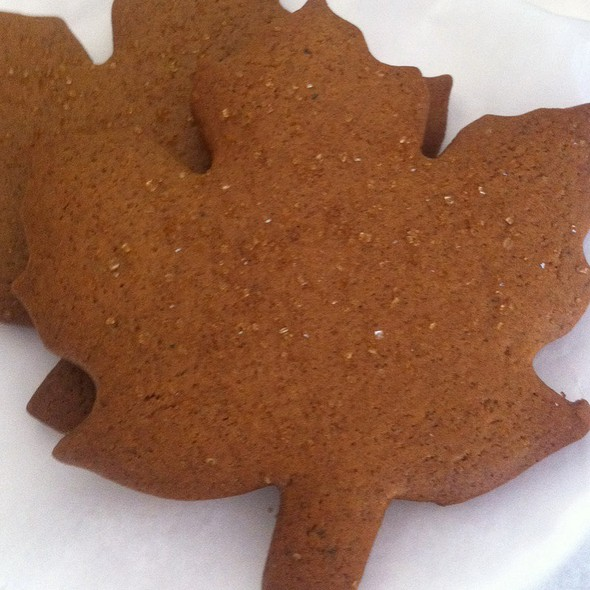Gingerbread Cookies @ Runcible Spoon Bakery