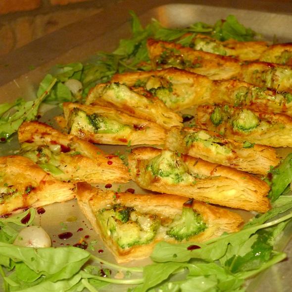 Brie & broccoli pastry - Formaggio Grill Kailua, Kailua, HI
