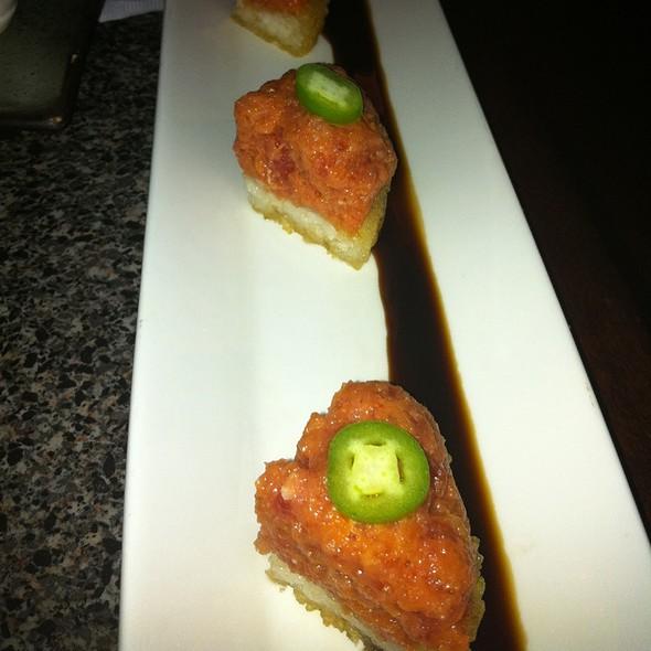 Spicy Tuna on Crispy Rice @ Izakaya Sozai