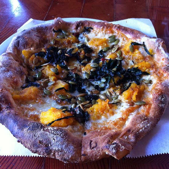 Pumpkin Pizza @ Pitfire Pizza Company