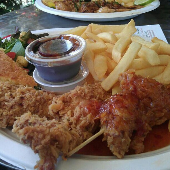 Fried Chicken and French fries @ The Chicken Lady