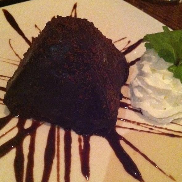 Chocolate Cake - Natsumi Restaurant, New York, NY