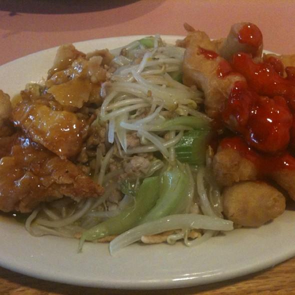 Lemon Chicken, Chow Mein, Sweet And Sour Chicken....