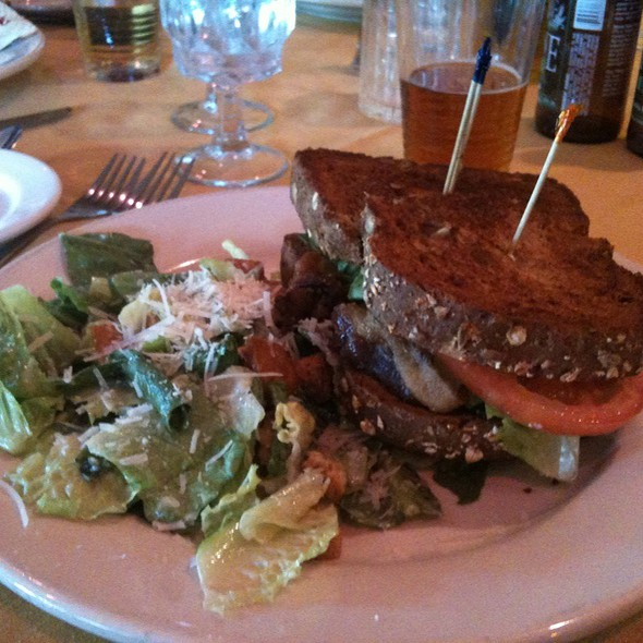 Blta Sandwich And Caesar Salad - Backstreet Bistro, Palm Desert, CA