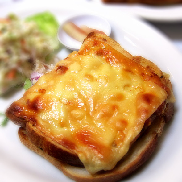 Open-Faced Croque Monsieur @ Brendas French Soul Food
