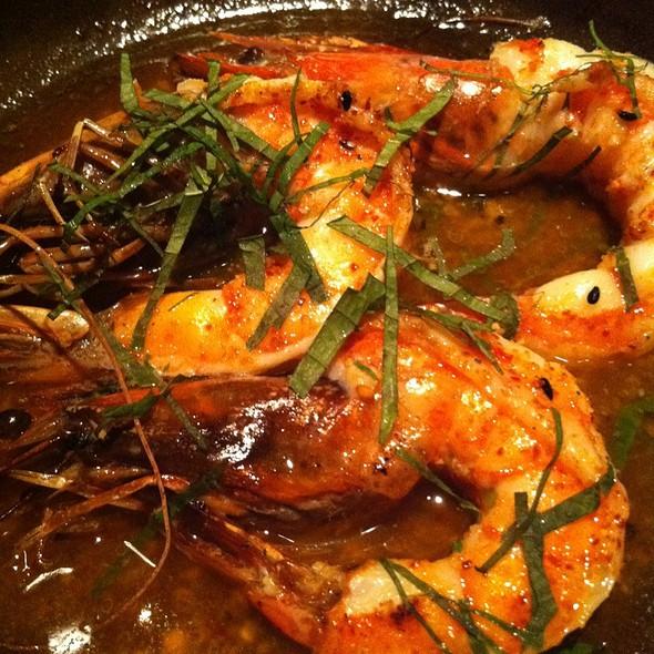 Head On Shrimp Tobanyaki @ Nobu Waikiki