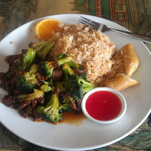 Broccoli Beef @ Szechuan Restaurant