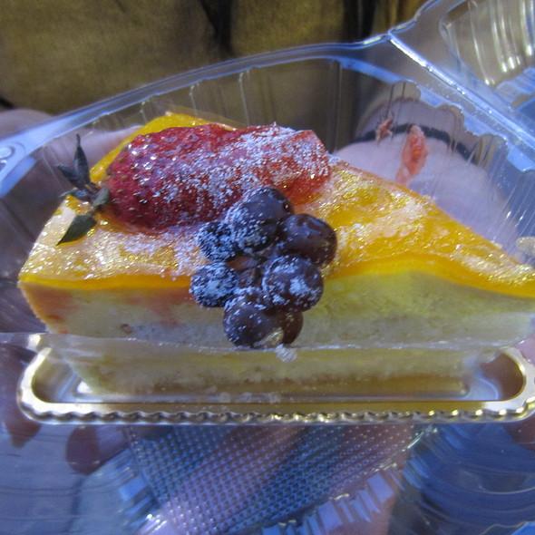 Mango Mousse Cake @ Cafe Dulce