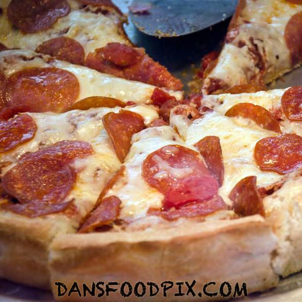 Deep Dish Pepperoni Pizza @ Armand's Chicago Pizzeria