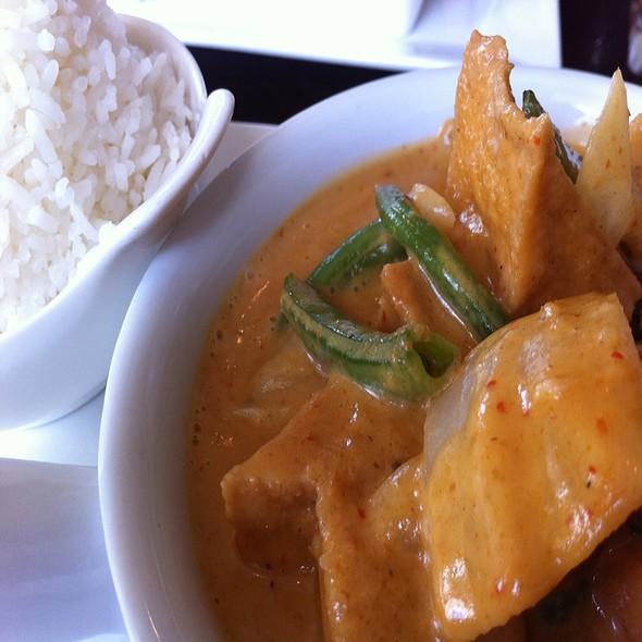 Massaman Curry With Tofu @ Chedi Thai Bistro