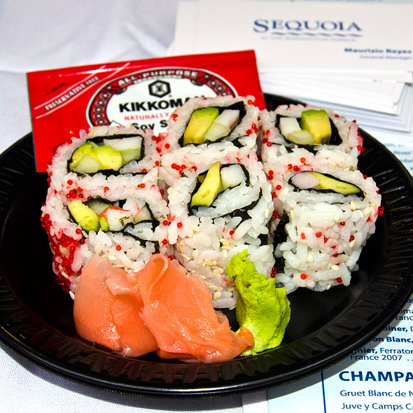 California Roll @ Sequoia (old concept)