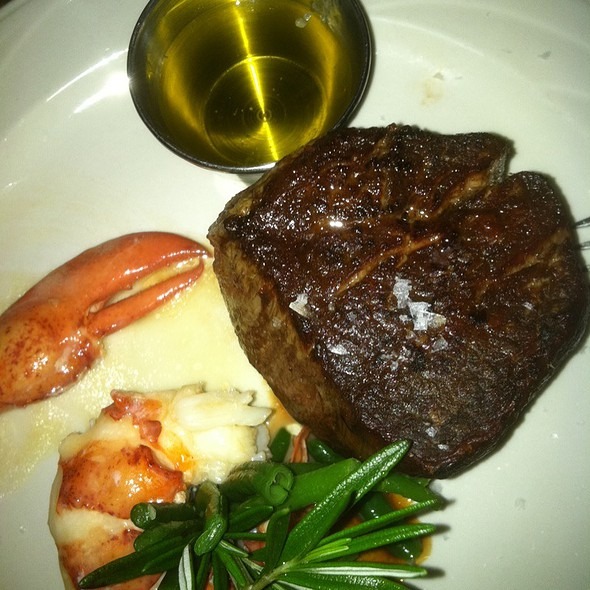 Lobster And Filet Mignon @ Keens Steak House