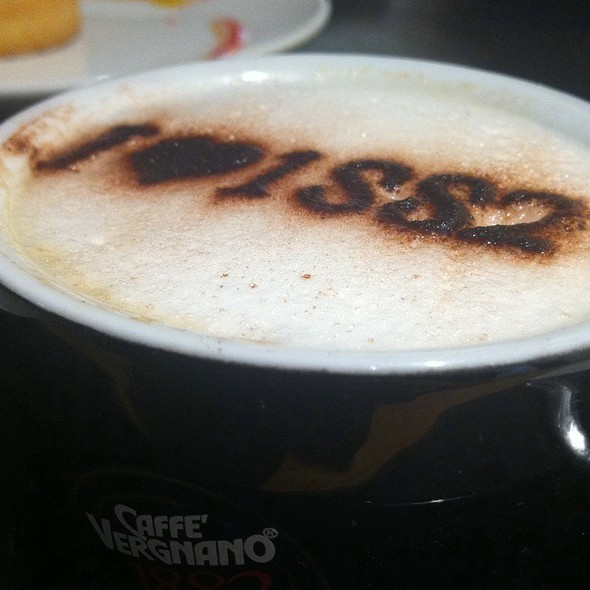 Baileys Coffee @ cafe vergnano 1882