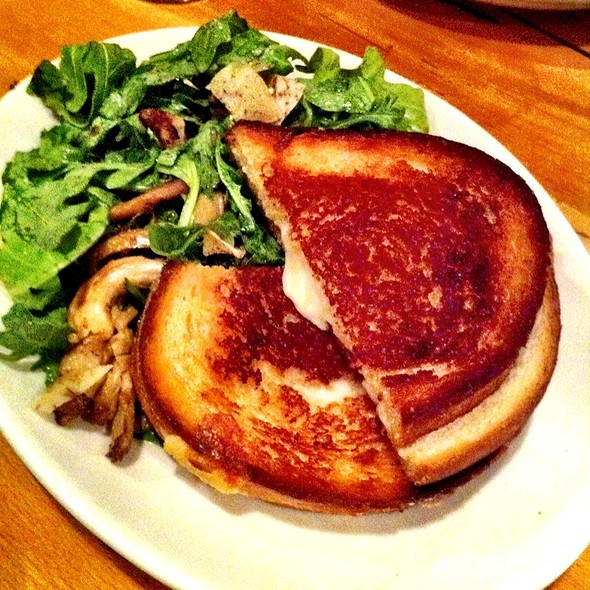 Grilled Cheese Sandwich - Rye House, New York, NY