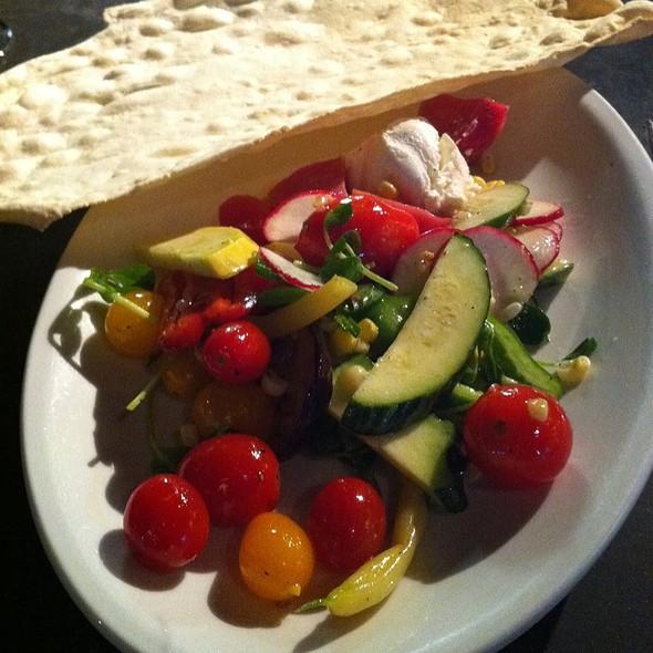 Local Vegetable Salad @ Farmhaus Restaurant