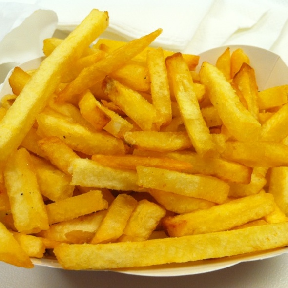 Fries Well Done @ In-N-Out Burger