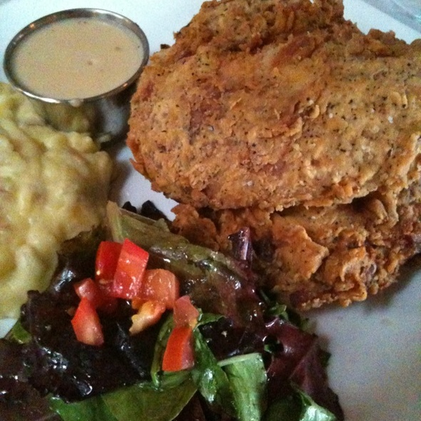 fried chicken @ Horne & Dekker