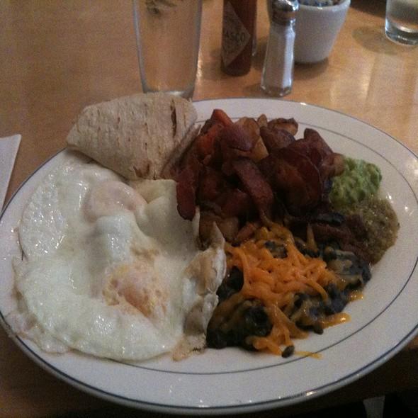 Huevos rancheros @ Alias Restaurant