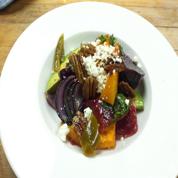 Roasted Fall Vegetable Salad @ Bistro Sabor