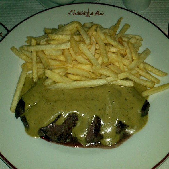 Entrecote with secret sauce