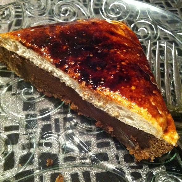 Chocolate Marshmallow Tart @ Restaurant Tallent