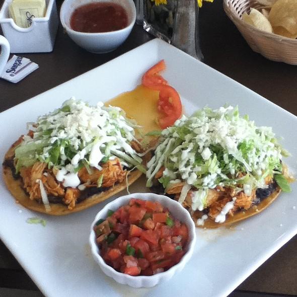 Tostadas de Tinga @ Bueno's Mexican Cuisine