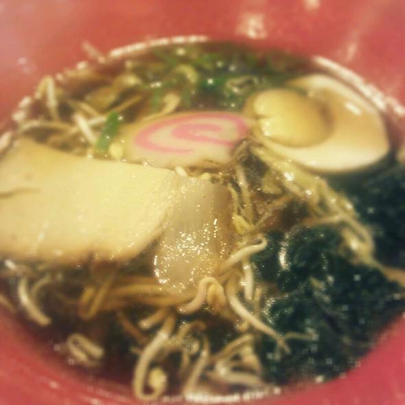 Seafood Shoyu Ramen @ Raku Hokkaido Ramen House