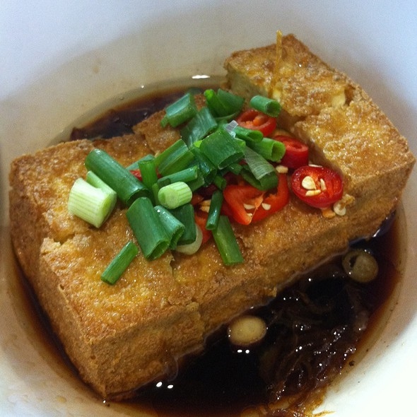 Special Tofu @ Hokee Congee @ Maxwell Food Centre