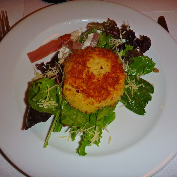 Gouda, crab & potato croquette @ Dining Room At 209 Main