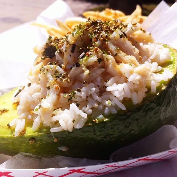 Crab Stuffed Avocado @ Big Wheel Provisions Lunch Truck