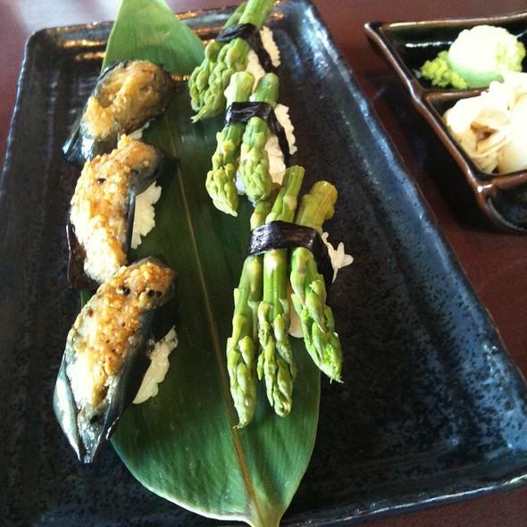 Eggplant Sushi @ Sushi Ran