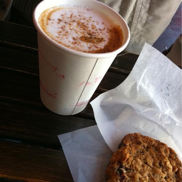 Maple Bacon Latte @ Pirate Cat Radio Cafe