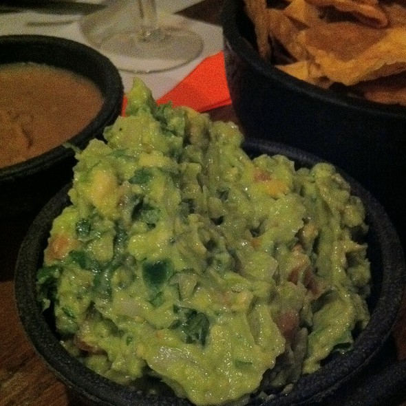 Fresh Made Guacamole @ Lindo Michoacan