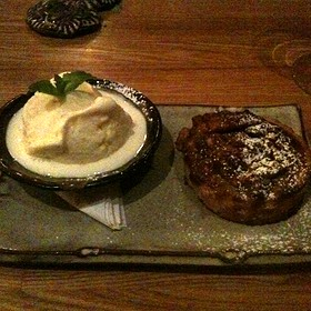 Pecan Pie With Vanilla Bean Ice Cream