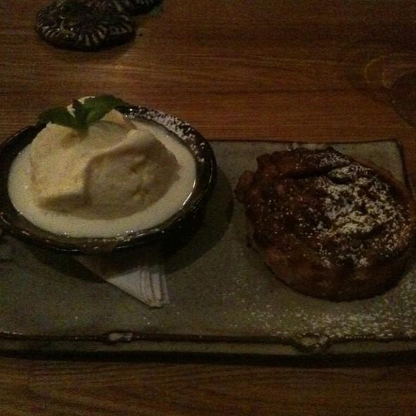 Pecan Pie With Vanilla Bean Ice Cream - SpringHouse, Alexander City, AL