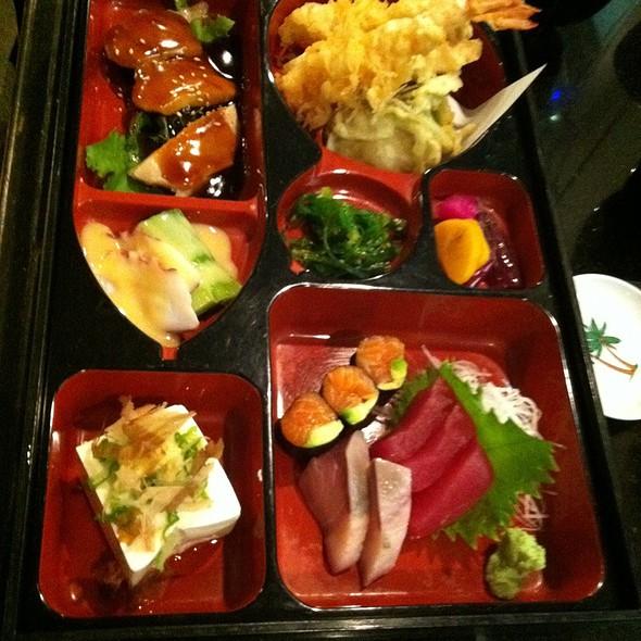 Sashimi and Tempura Teishoku @ Hayama Japanese Restaurant