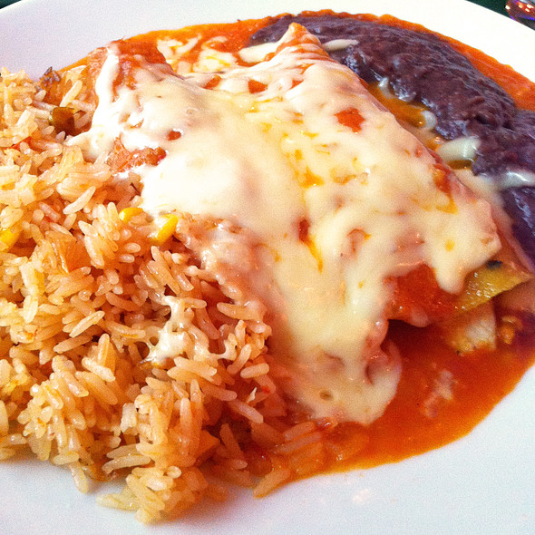 Chicken Enchilada @ Tacos & Salsa