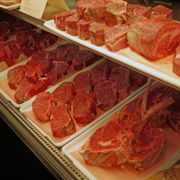 Dry-Aged USDA Prime Steaks @ Alexander's Steakhouse
