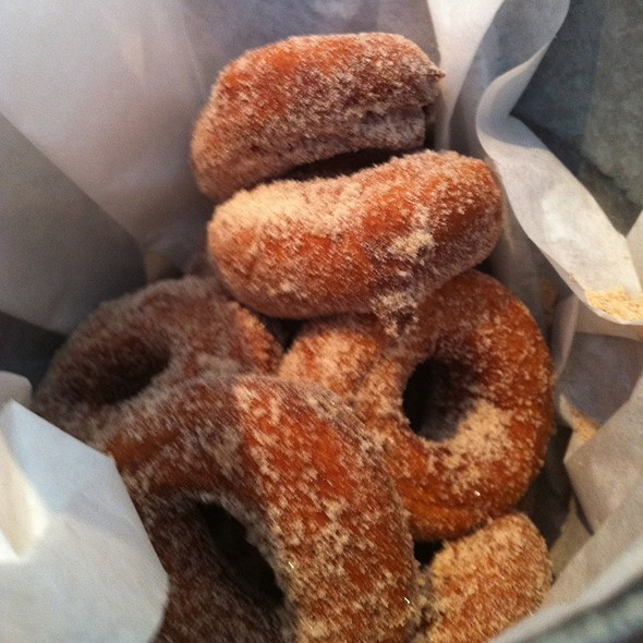 Cinnamon Spiced Donuts @ Boon Fly Cafe