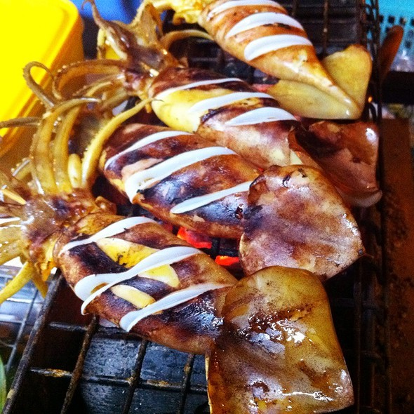 Grilled Cuttle Fish