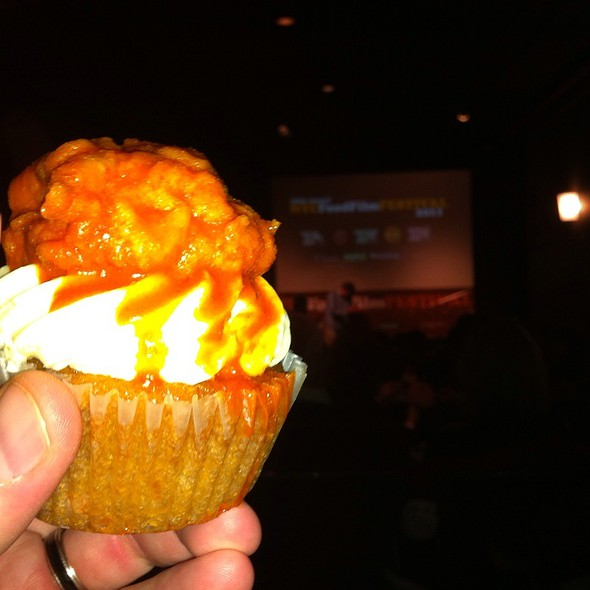 Buffalo Chicken Blue Cheese Cupcake @ Ny Food Film Fest