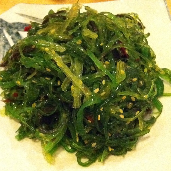 sea weed salad @ Esa Sushi