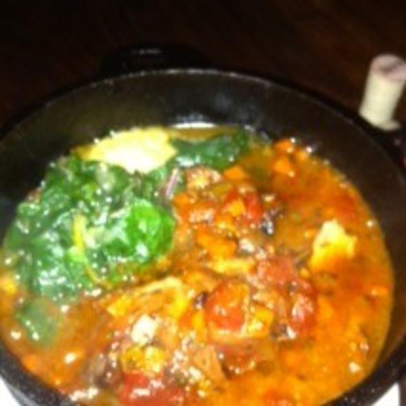 Nonna's tomato-braised chicken @ Scopa
