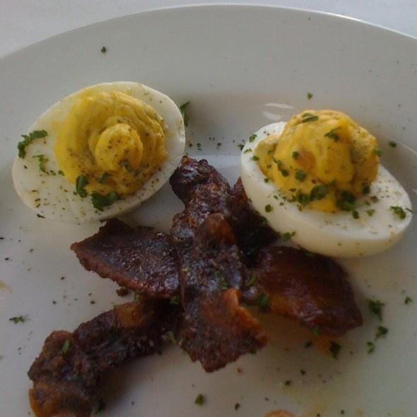 Deviled Eggs & Sugar Bacon @ Bricktop's