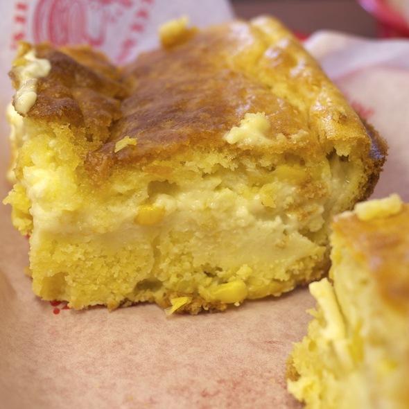 Custard-filled Cornbread @ Rub BBQ Company