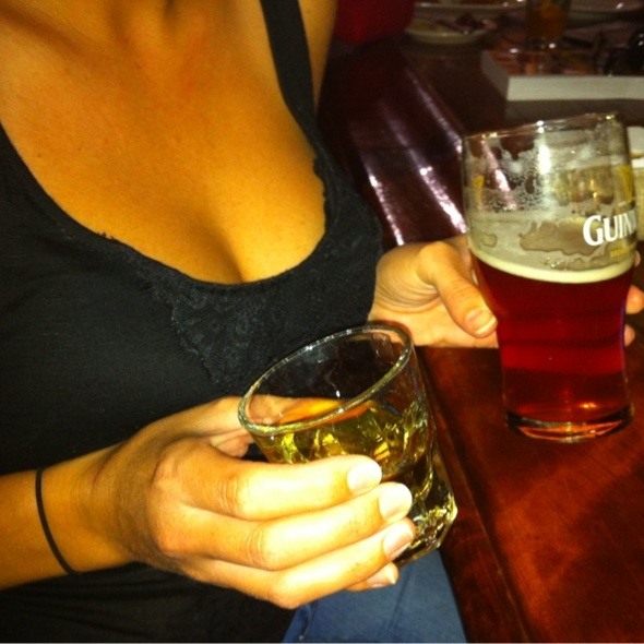 Jameson and Green Flash West Coast IPA - Rosie McCann's Irish Pub & Restaurant, Santa Cruz, CA