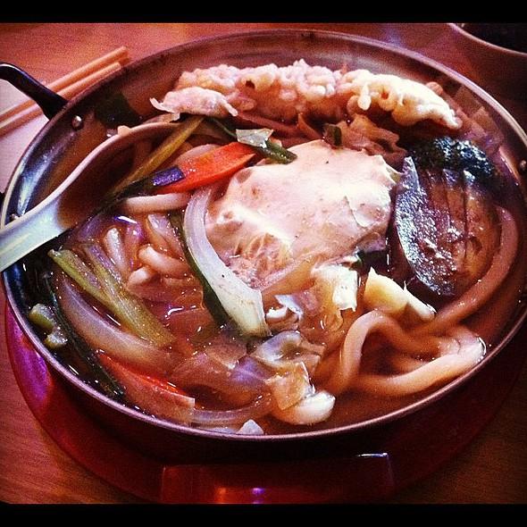 nabeyaki udon. @ Irifune Restaurant