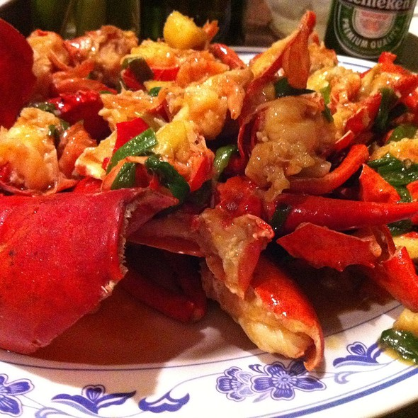 Ginger and Scallion Lobster