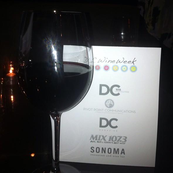 Pinot Noir @ Sonoma Restaurant And Wine Bar