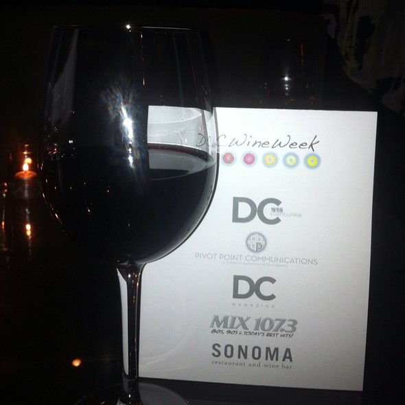 Pinot Noir @ Sonoma Restaurant And Wine Bar